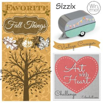 Art with Heart Challenge September: Favorite Fall Things