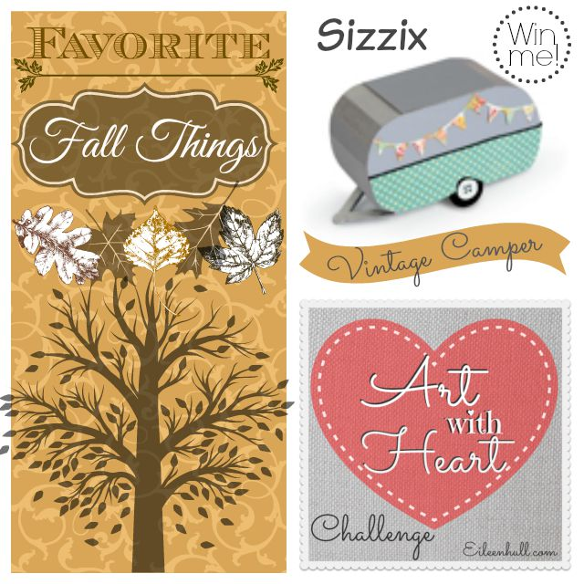 "Art with Heart Challenge September ""Favorite Fall Things"""