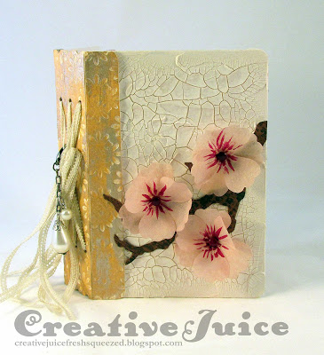 Create with Crescent: Sizzix Passport Book with RENDR paper tutorial by Lisa Hoel