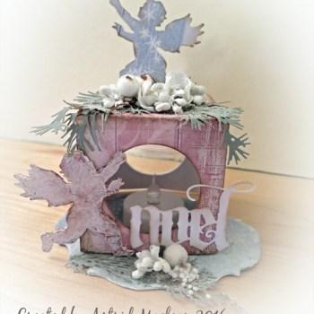 Festive Sizzix Lantern Tutorial by Astrid Maclean
