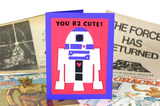 Last Minute Valentine's Day Sizzix Projects: R2D2 Valentine by Jonathan Fong