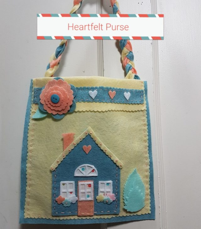 Kunin Heartfelt Sizzix Tutorials: House Handbag by Debra Quartermain
