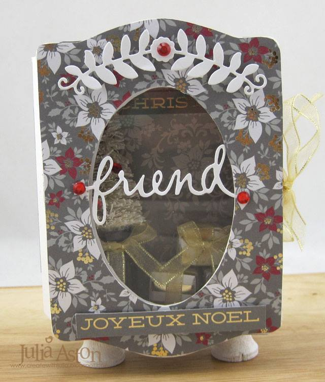 New Book Club Sizzix Collection Preview: Book Pages and Trinket Box by Julia Aston