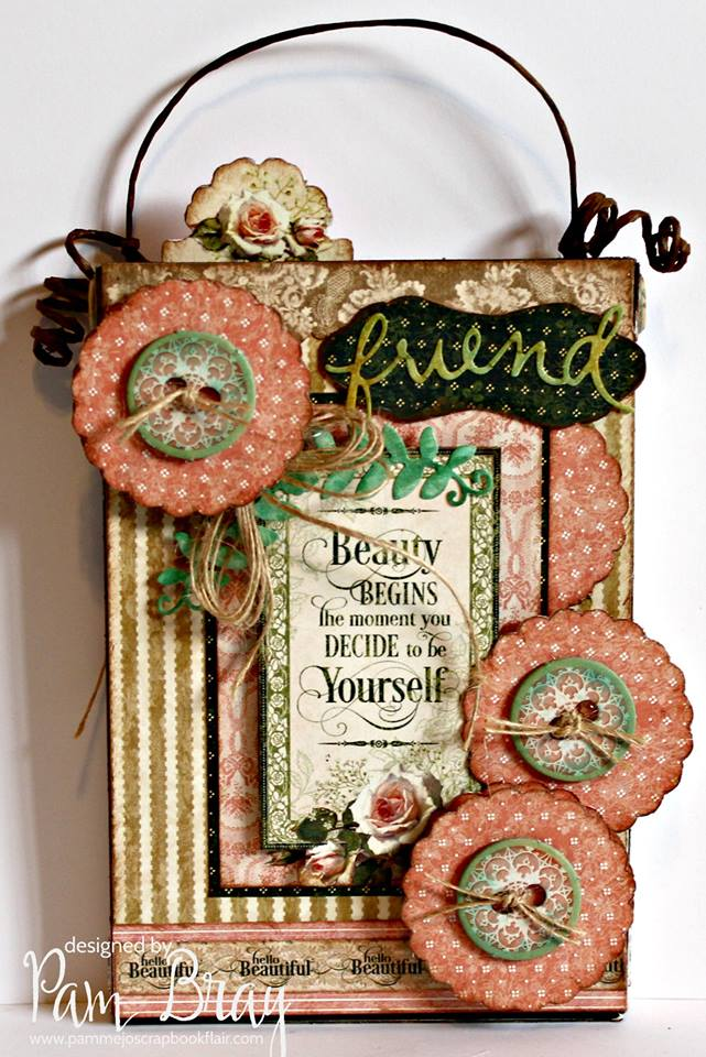 New Book Club Sizzix Collection Preview: Stamp and Storage Gift Set by Pam Bray
