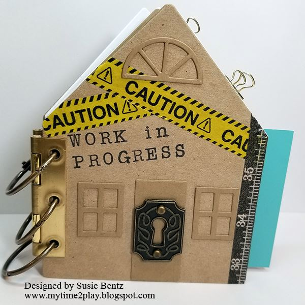 Unique Heartfelt Sizzix Tutorials: Home Improvement Journal by Susie Bentz