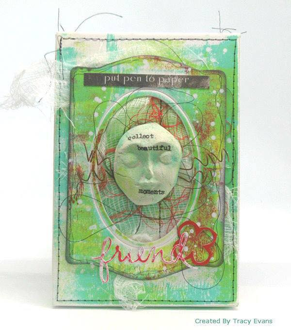 Sizzix Book Club Project Tutorials: Mixed-Media Stamp and Storage Box by Tracy Evans