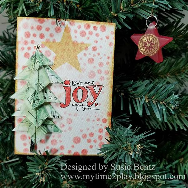 Eileen Hull Sizzix Die Gift Projects: ATC and Charm with Colorbox Blends by Susie Bentz