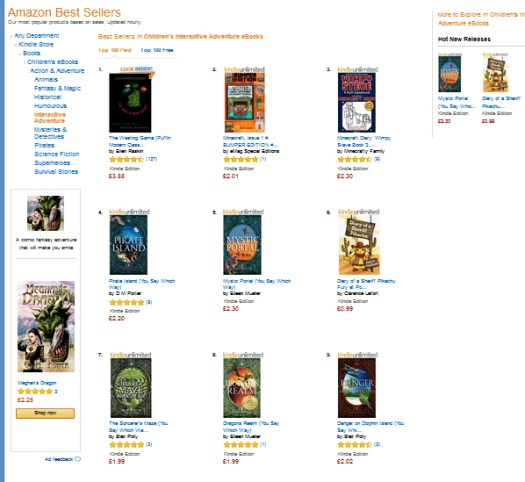 Amazon Bestseller Mystic Portal Dragons Realm