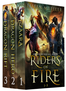 Riders of Fire Box Set 1 - Ezaara, Dragon Hero, Dragon Rift - award-winning, bestselling books.