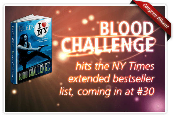 Blood Challenge is a NY Times bestseller!