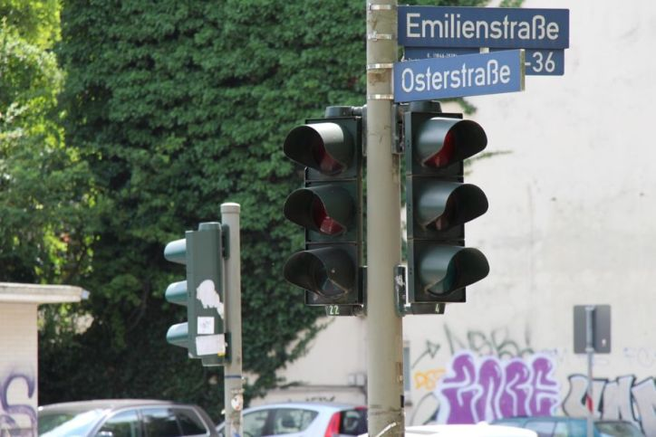 Freie Fahrt für Radfahrer an roten Ampeln