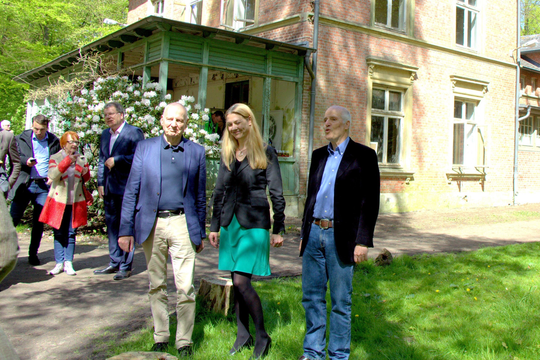 Restaurierung der Villa Mutzenbecher