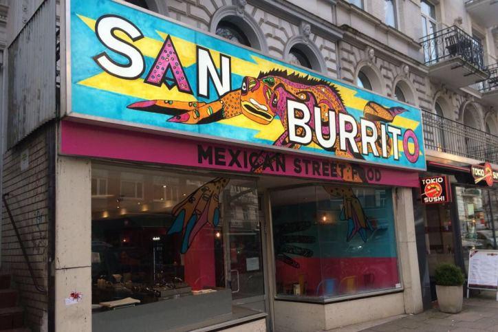 San Burrito Außenansicht. Foto: San Burrito