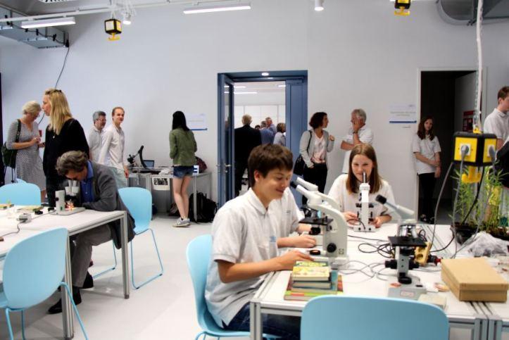 Lernen und Forschen in Eimsbüttel: Neues Schülerforschungszentrum eröffnet