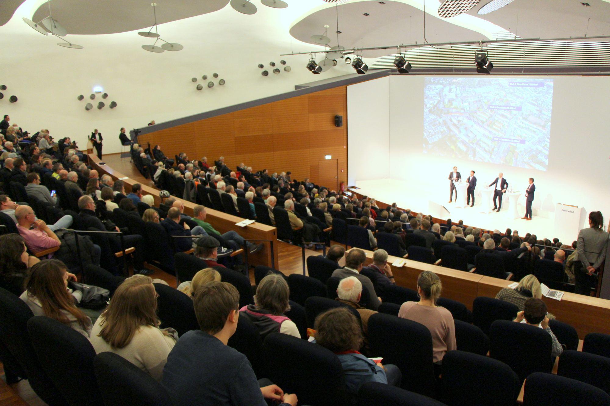 Beiersdorf informiert Kleingärtner und Anwohner