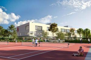 Der Bau des Sportzentrums verzögert sich um ein Jahr. Foto: ETV