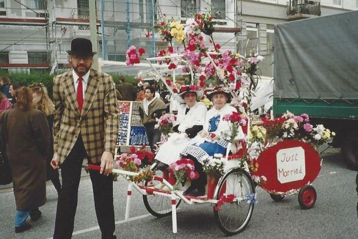 Das Osterstraßenfest damals und heute