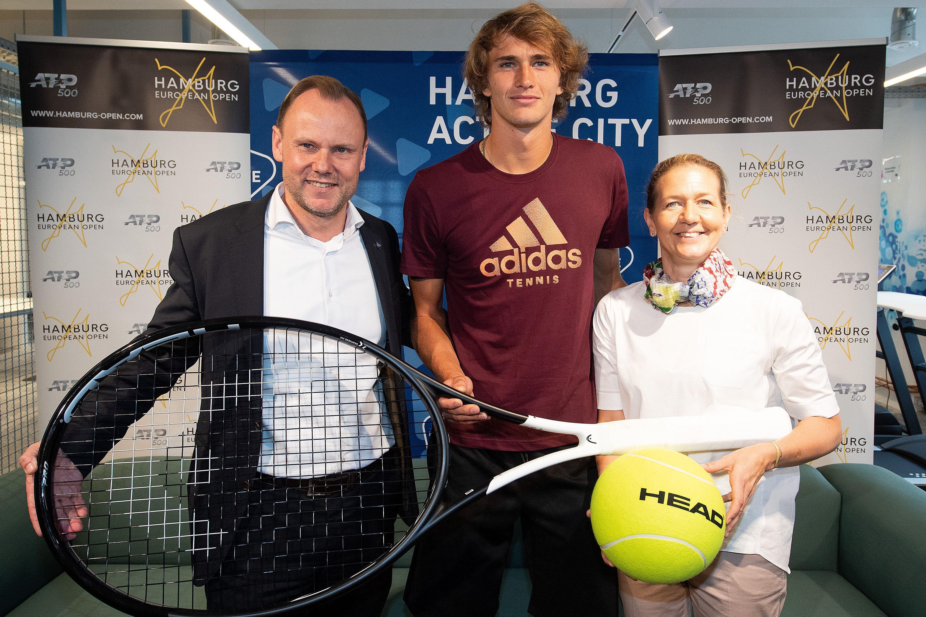 Hamburg European Open: Die Zverev-Brüder schlagen auf