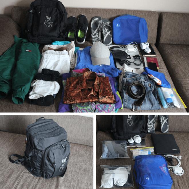 Alles zusammengepackt