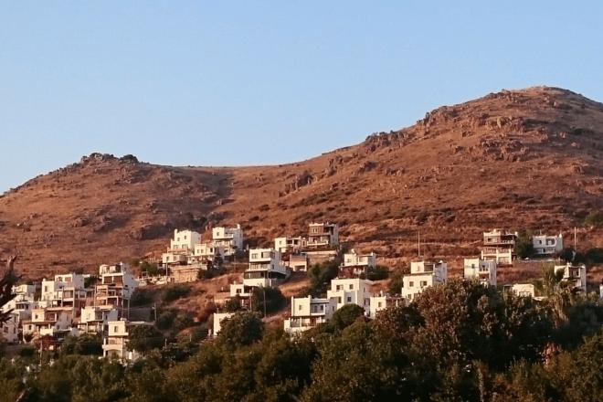 Berg Bodrum Häuser