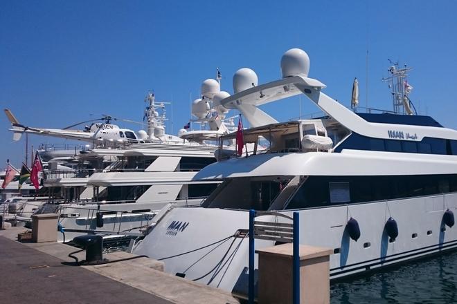 Yachthafen Monaco