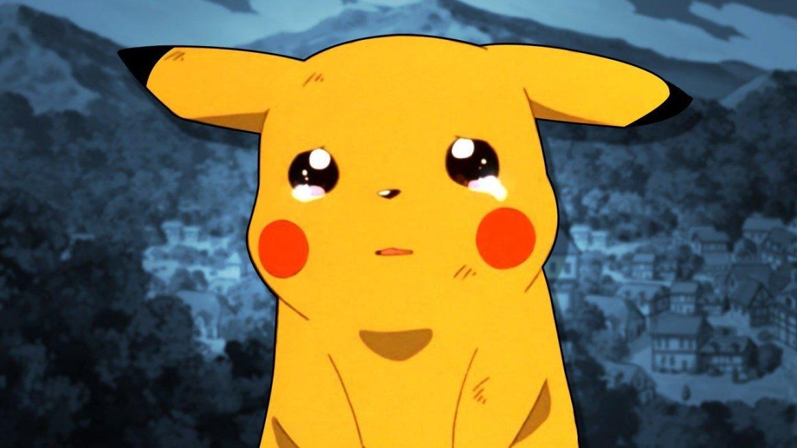 Resultado de imagem para Pikachu triste