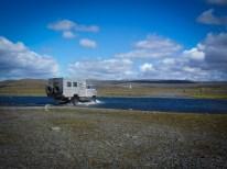 Zahlreiche Furten prägen unsere Tour durch das Hochland von Island.