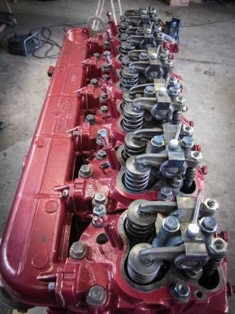 Überarbeiteter Motor.