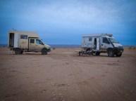 Übernachtungsplatz im Erg Chegaga, bevor es am kommenden Tag zum Dünen-Training geht.