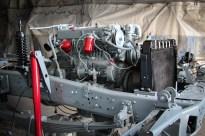 Chassis und Motor grundrenoviert.