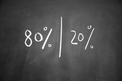 Mit dem 80-20 Pareto-Prinzip und Zeitmanagement wirklich Zeit und Energie sparen – eine Erklärung