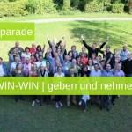 Blogparade WIN-WIN - geben und nehmen