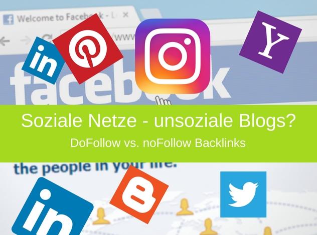 Dofollow-nofollow Backlinks in Blogs | Soziale Netze – unsoziale Blogs?