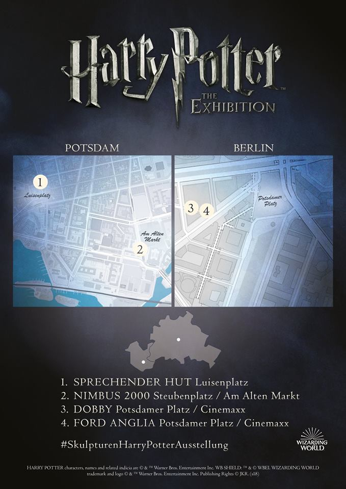 harry potter exhibition 2