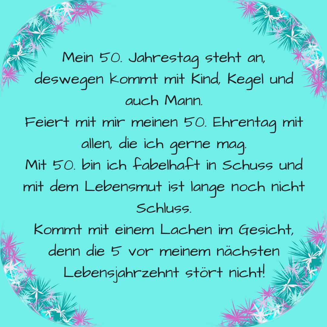 Spruche Zum 50 Geburtstag Auf Plattdeutsch