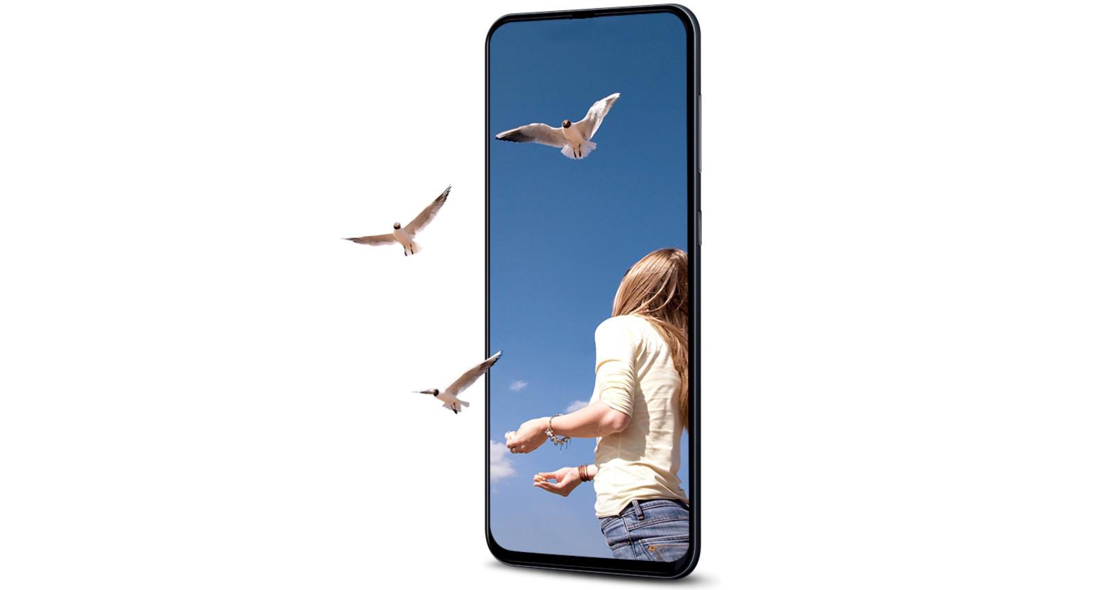 Das Samsung Galaxy A90 als Leak