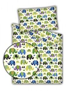 Kinderbettwäsche Elefanten