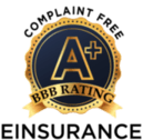 EINSURANCE A+ Rating - No Complaints