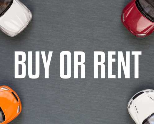 buying vs leasing vs renting a car