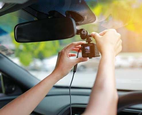 dashboard camera in your car