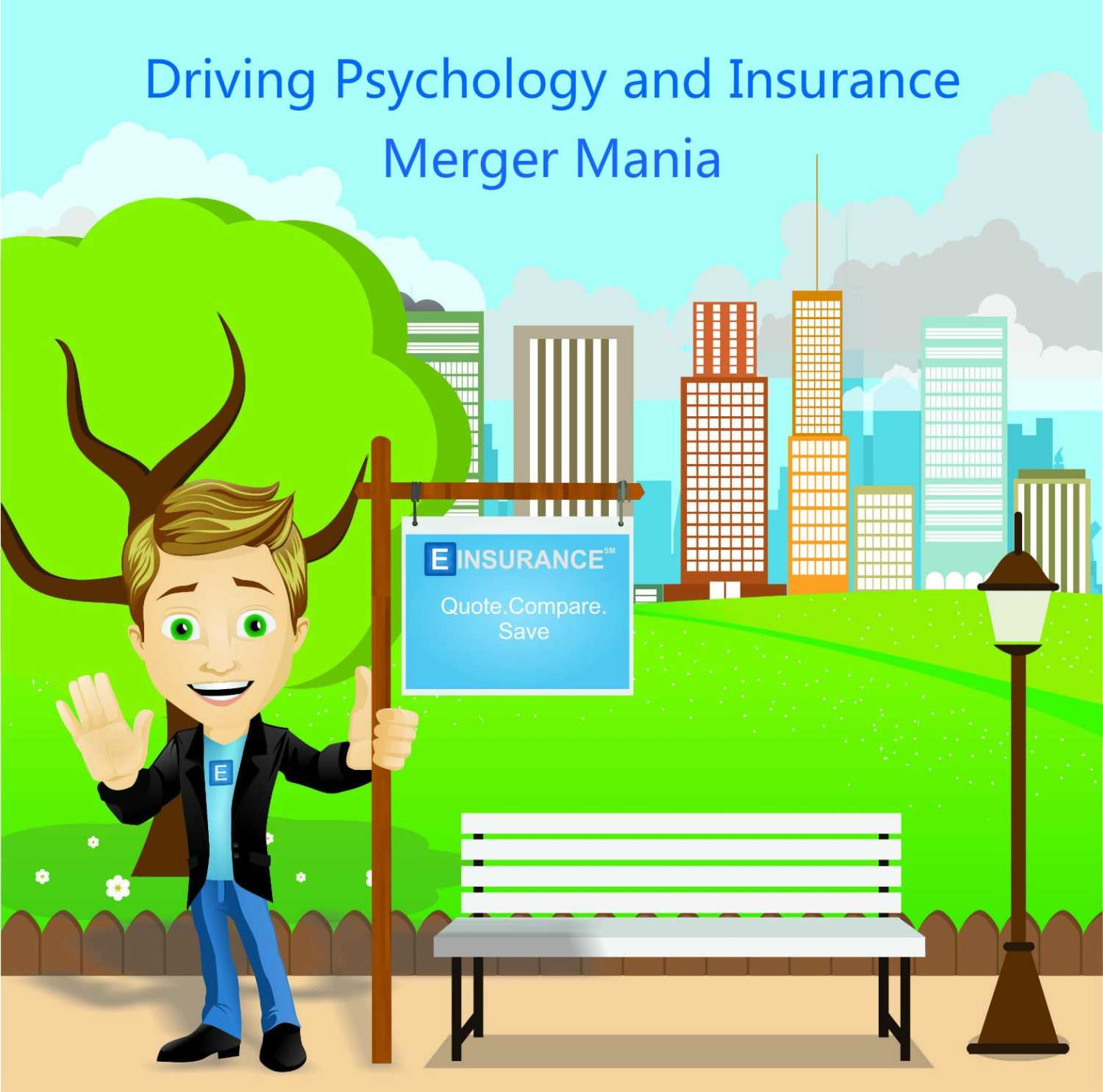 driving psychology and insurance regarding merger mania