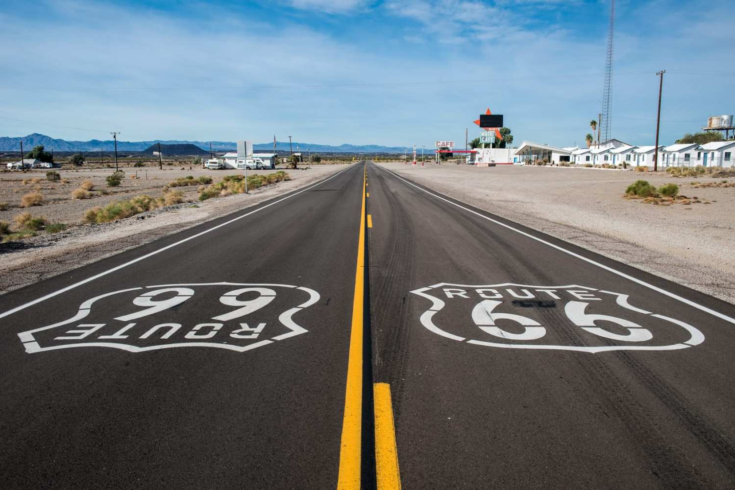 historic Route 66 usa road trips