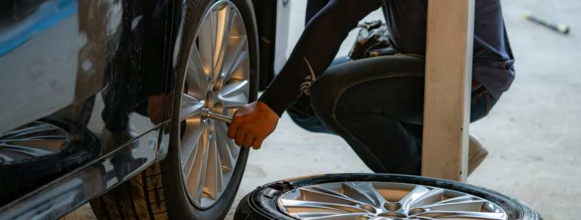 how to safely handle a tire blowout