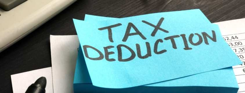 is homeowners insurance tax deductible