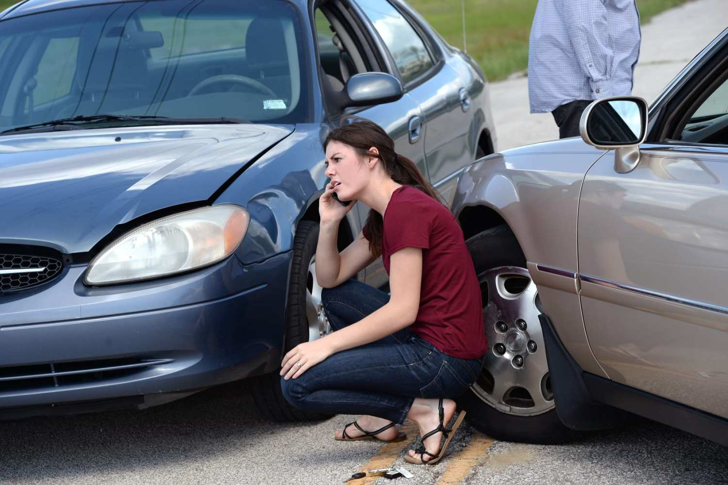 car accident when you are at fault
