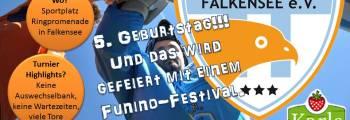 Eintracht Falkensee e.V. wird fünf Jahre alt