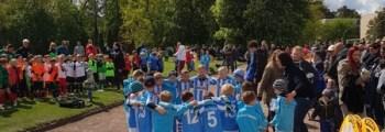 Unsere G1-Junioren beim Funino-Festival von ESV Lok Elstal am 05.05.2019
