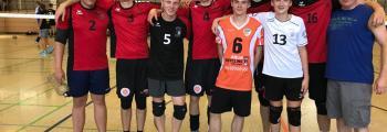 Platz 3! Am 1. Spieltag unserer U 20 Volleys