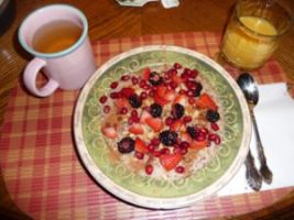 oatmeal with fruit