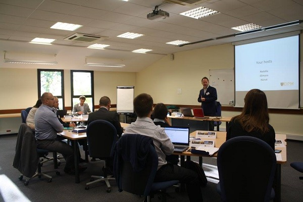 Photo taken during the Workshop Advanced R&D